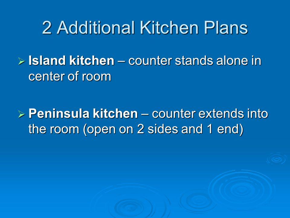 2 Additional Kitchen Plans