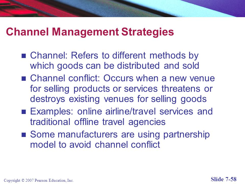 Channel Management Strategies