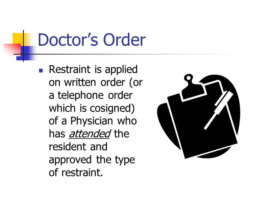 Doctor's Order