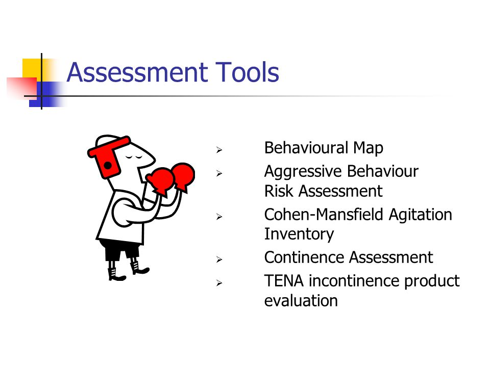 Assessment Tools Behavioural Map Aggressive Behaviour Risk Assessment