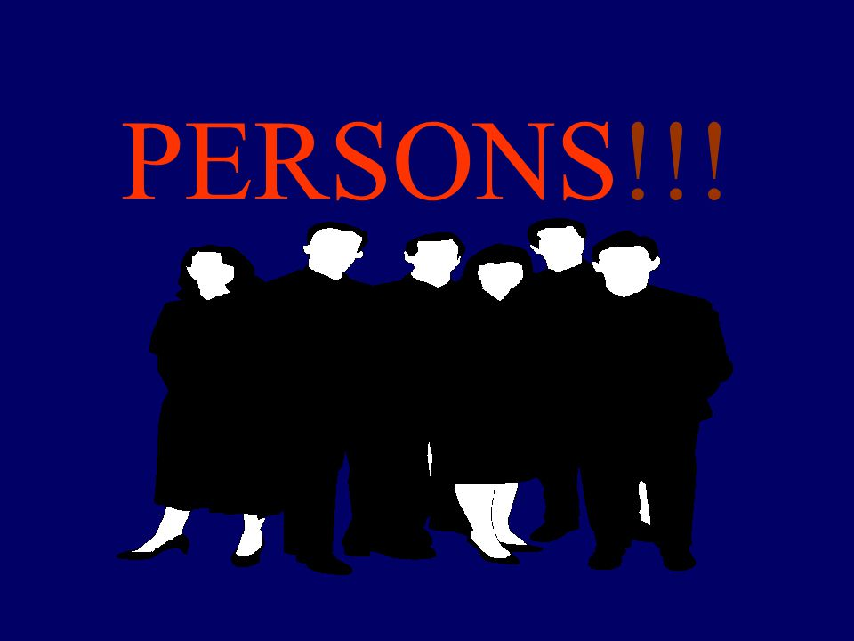 PERSONS!!! 8