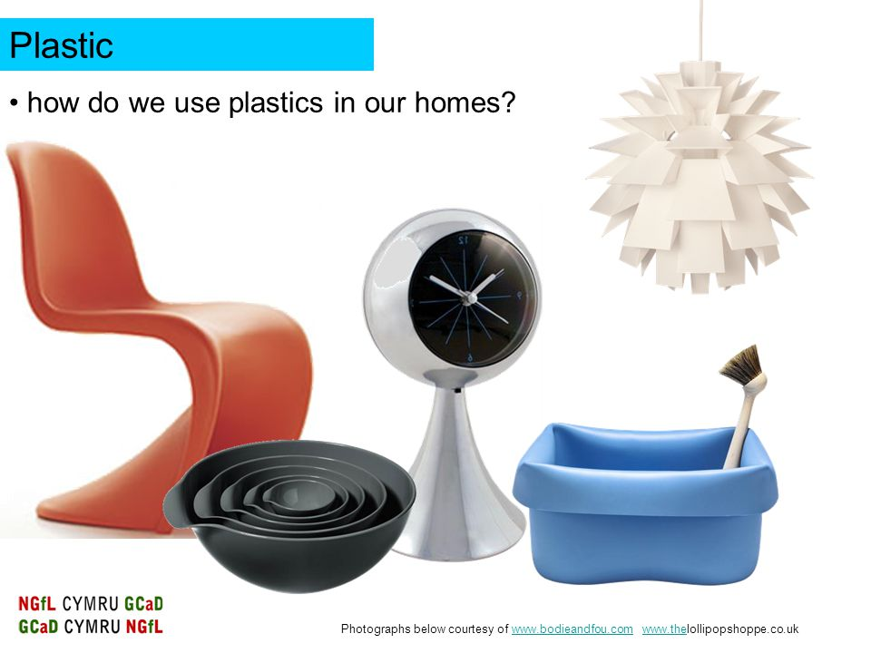 Plastic how do we use plastics in our homes