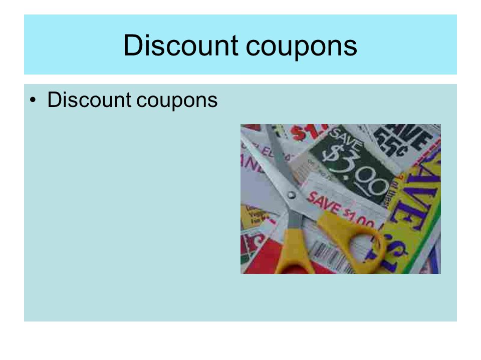 Discount coupons Discount coupons