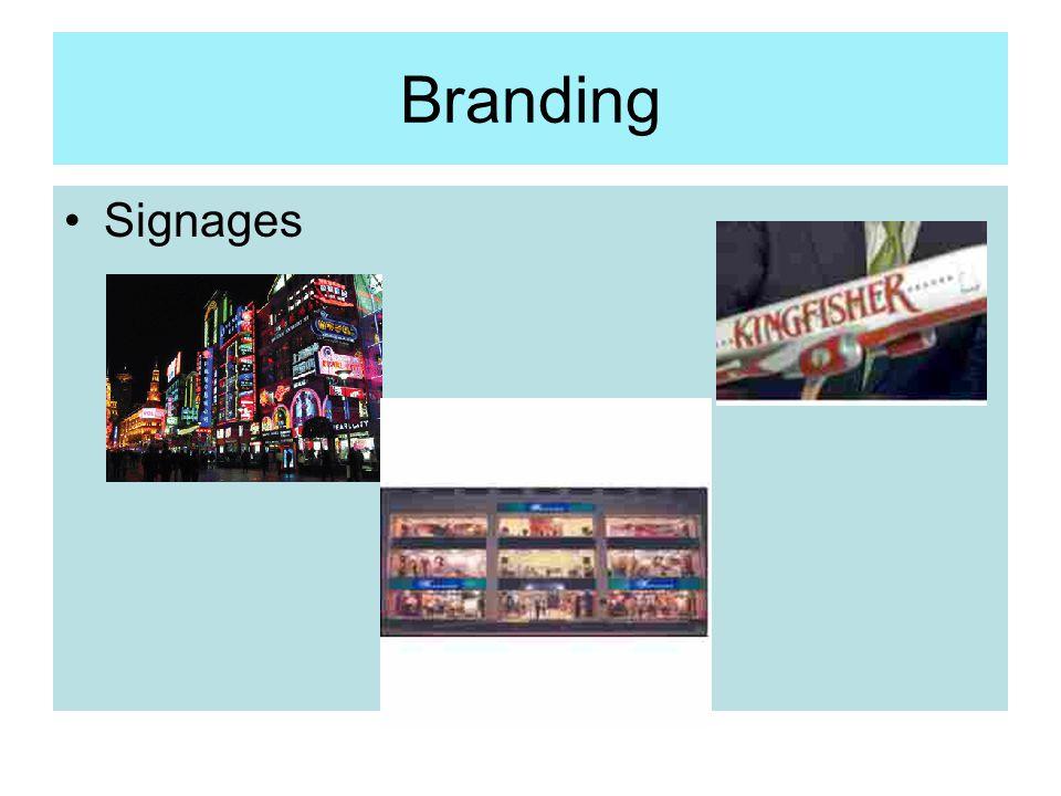 Branding Signages