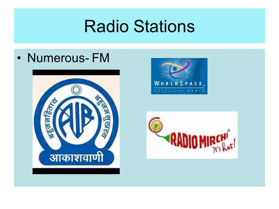 Radio Stations Numerous- FM