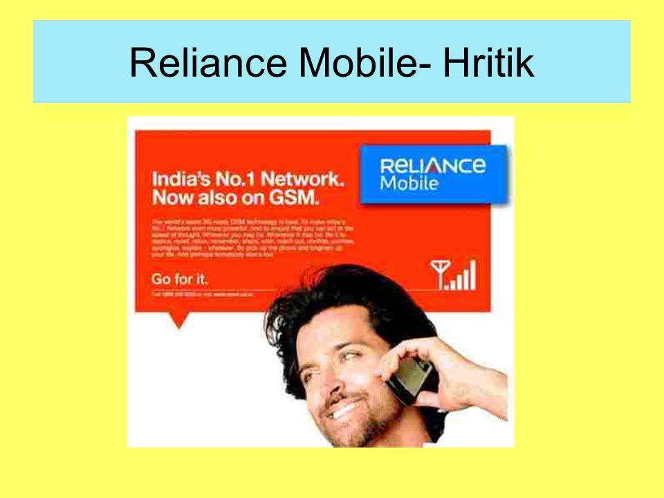 Reliance Mobile- Hritik
