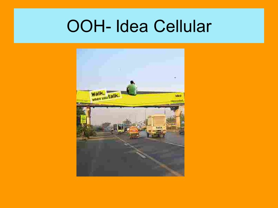 OOH- Idea Cellular