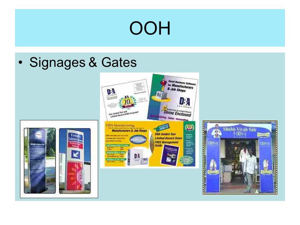 OOH Signages & Gates