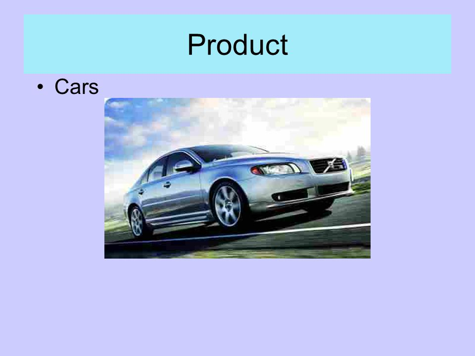 Product Cars