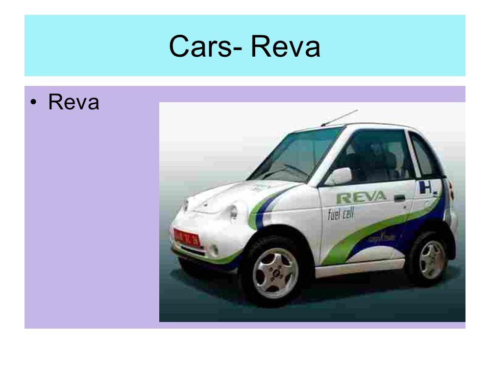 Cars- Reva Reva