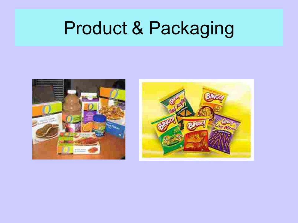 Product & Packaging