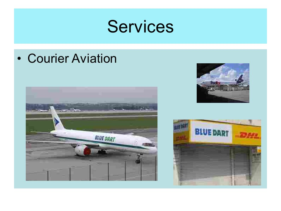 Services Courier Aviation