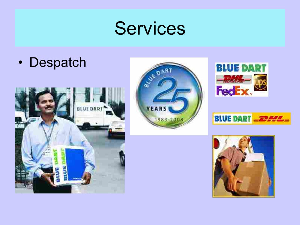 Services Despatch