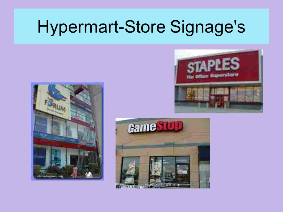 Hypermart-Store Signage s