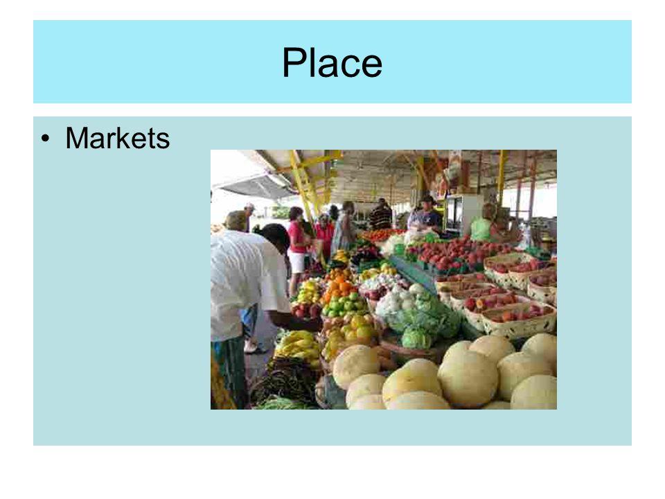Place Markets