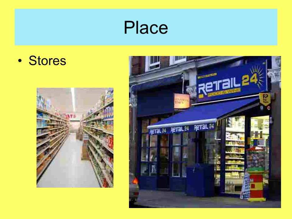 Place Stores