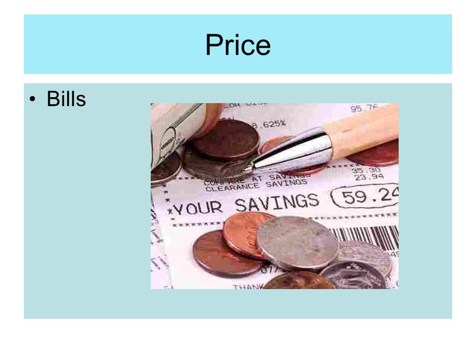 Price Bills