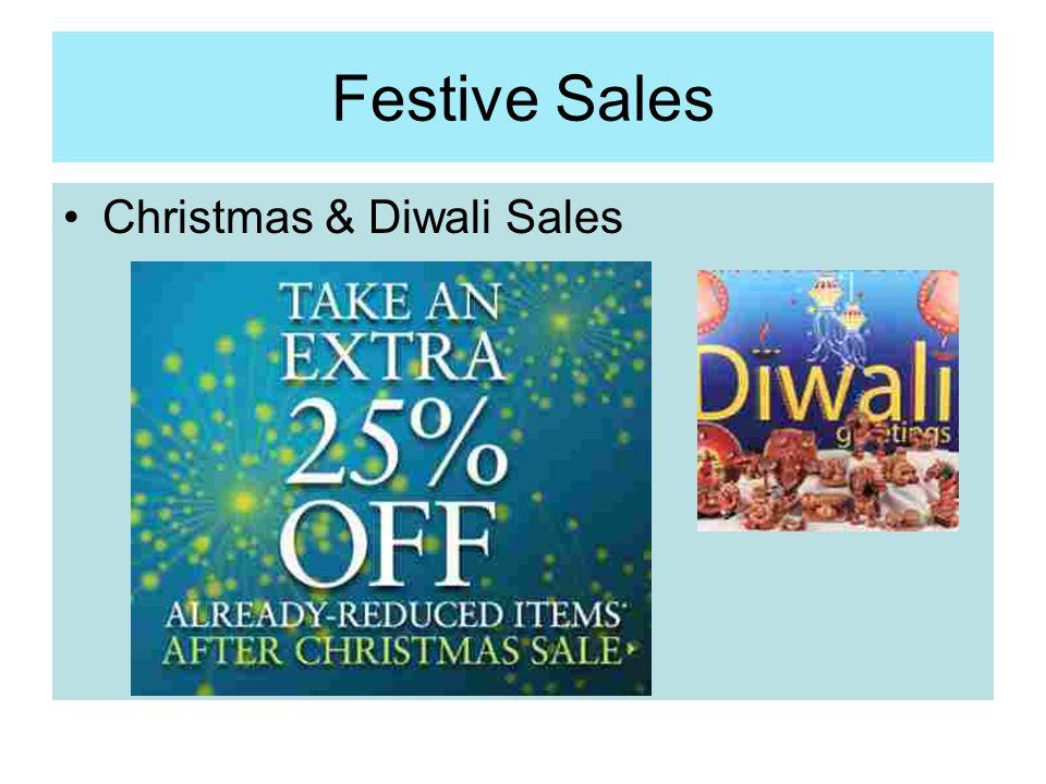 Festive Sales Christmas & Diwali Sales