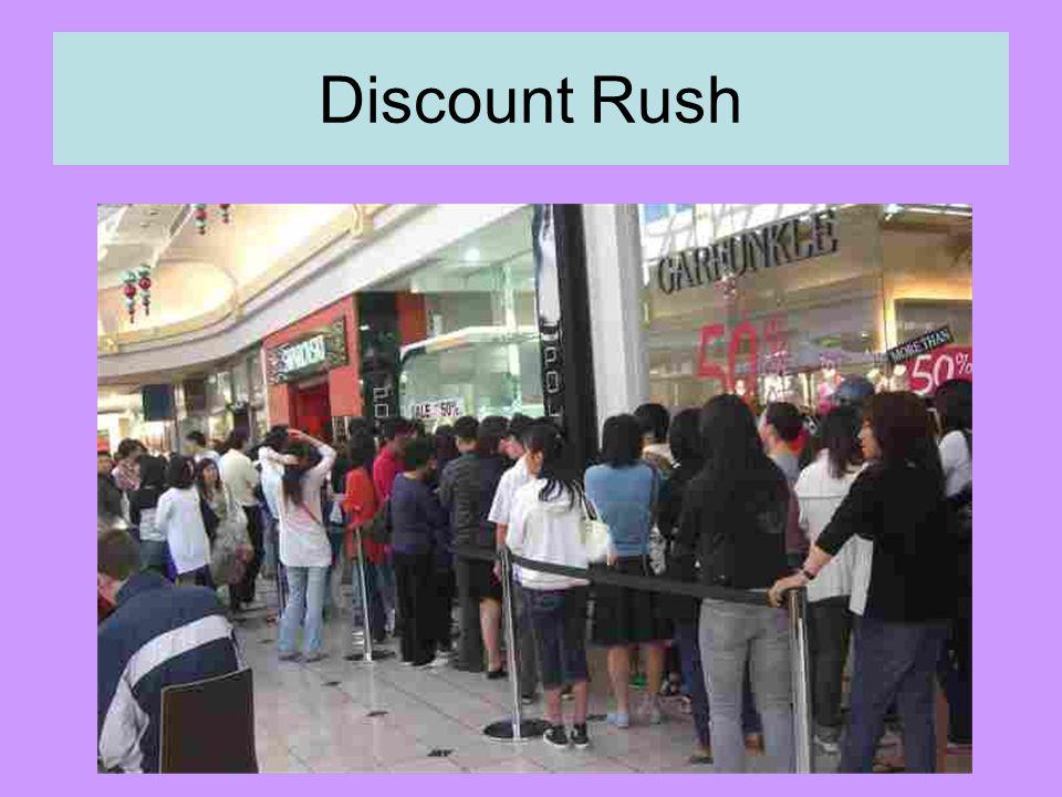 Discount Rush