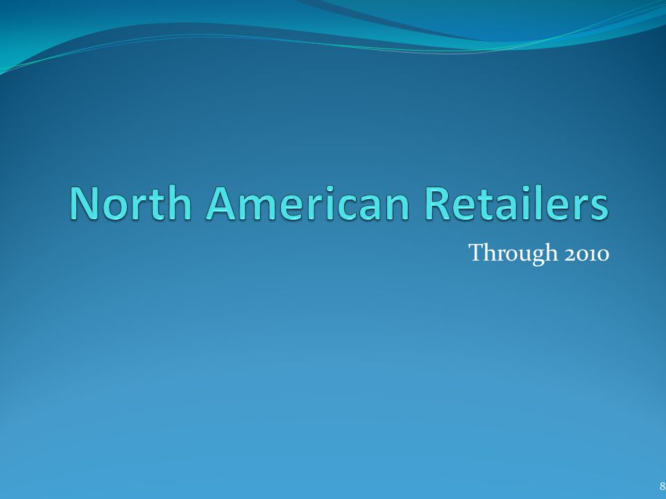 North American Retailers