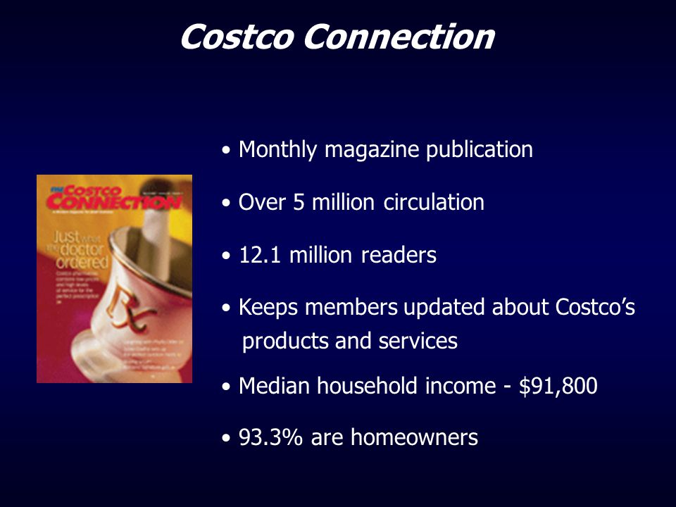 Costco Connection Monthly magazine publication