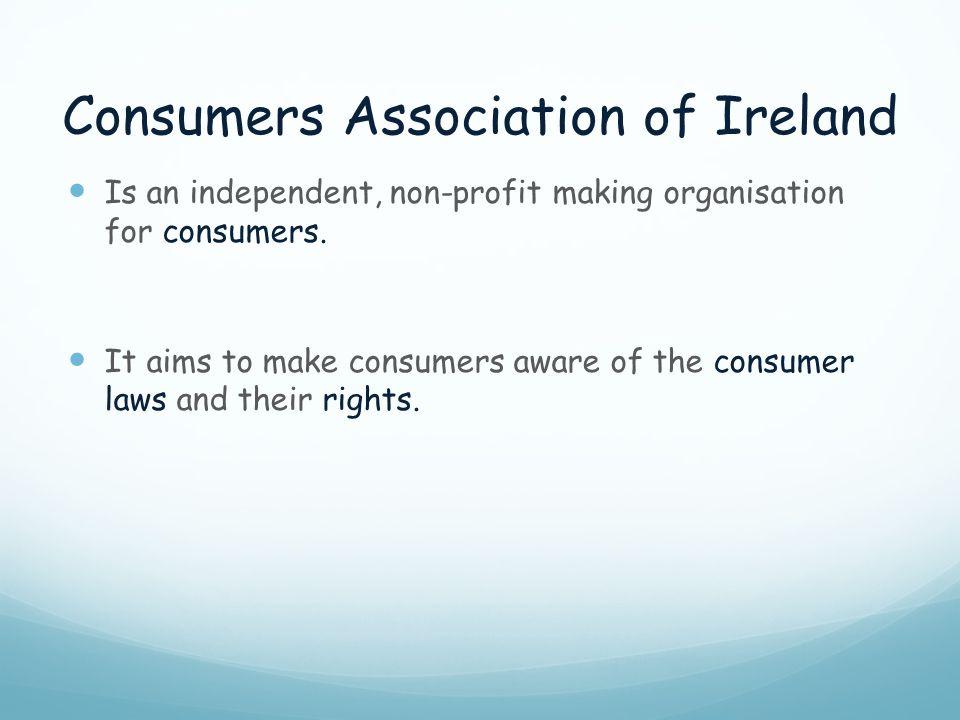 Consumers Association of Ireland