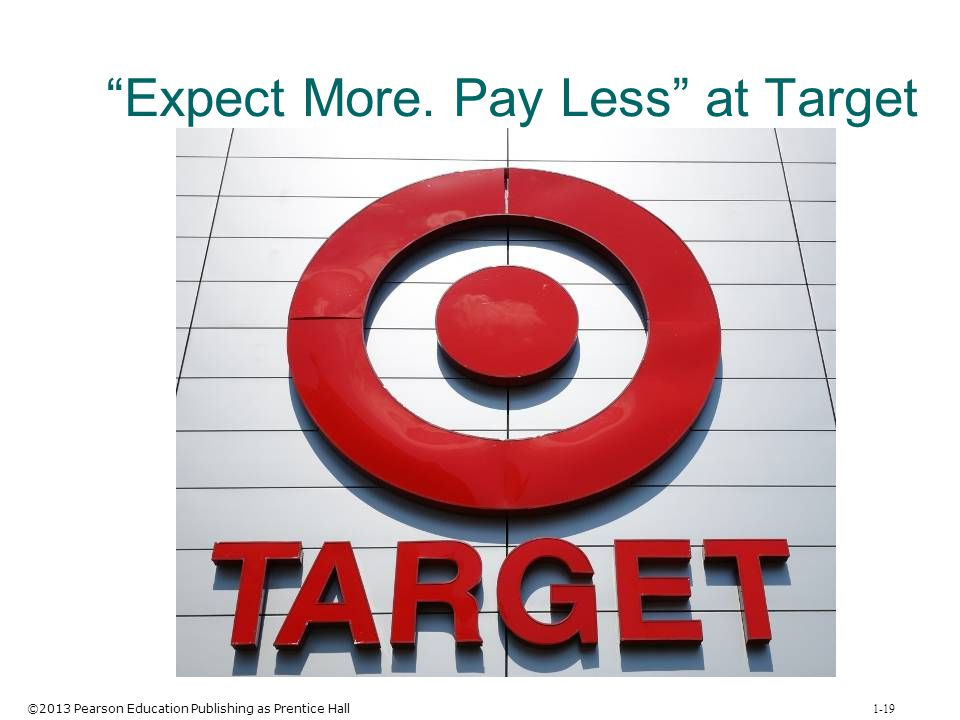 Expect More. Pay Less at Target
