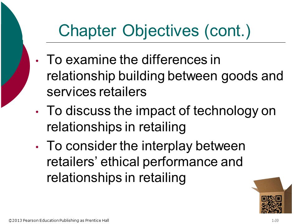 ethical performance and relationship in retailing business