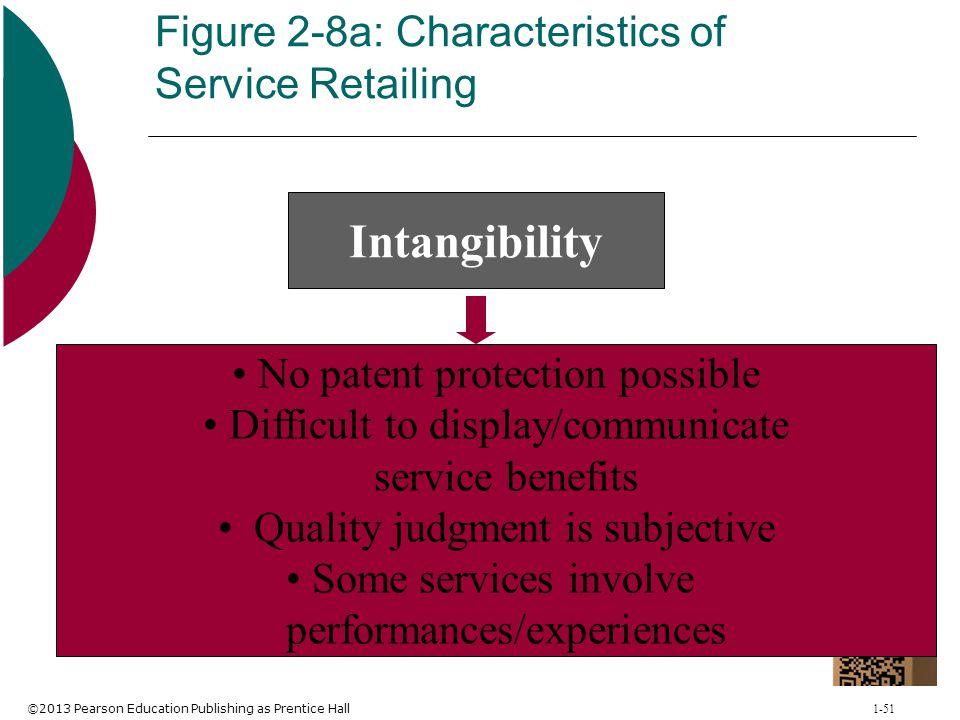 Figure 2-8a: Characteristics of Service Retailing