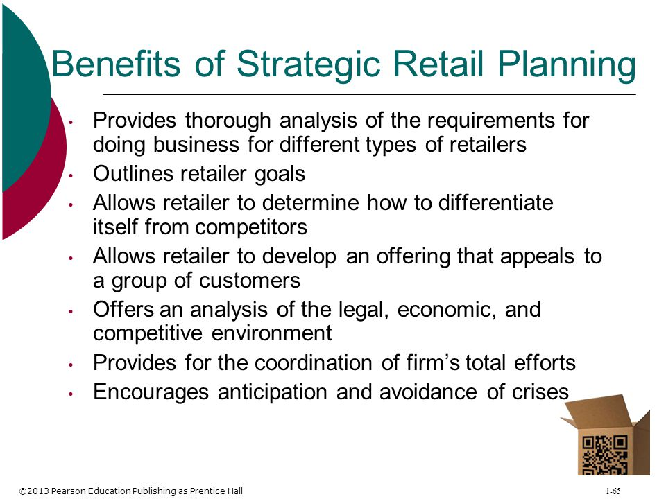 Benefits of Strategic Retail Planning
