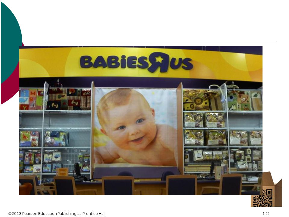 Figure 3-6: Niche Retailing by Babies R Us