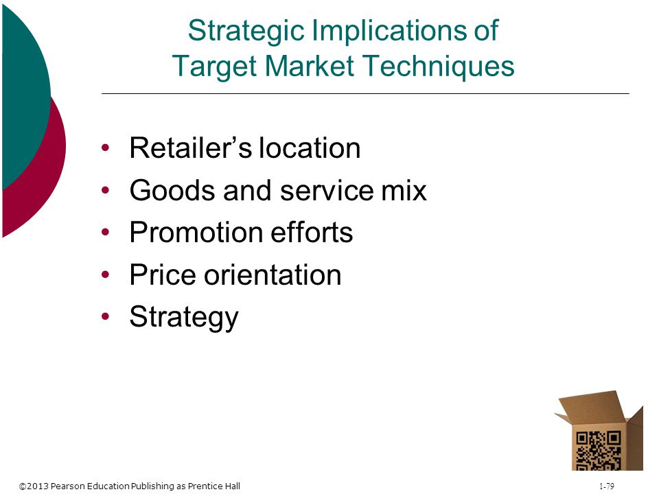 Strategic Implications of Target Market Techniques