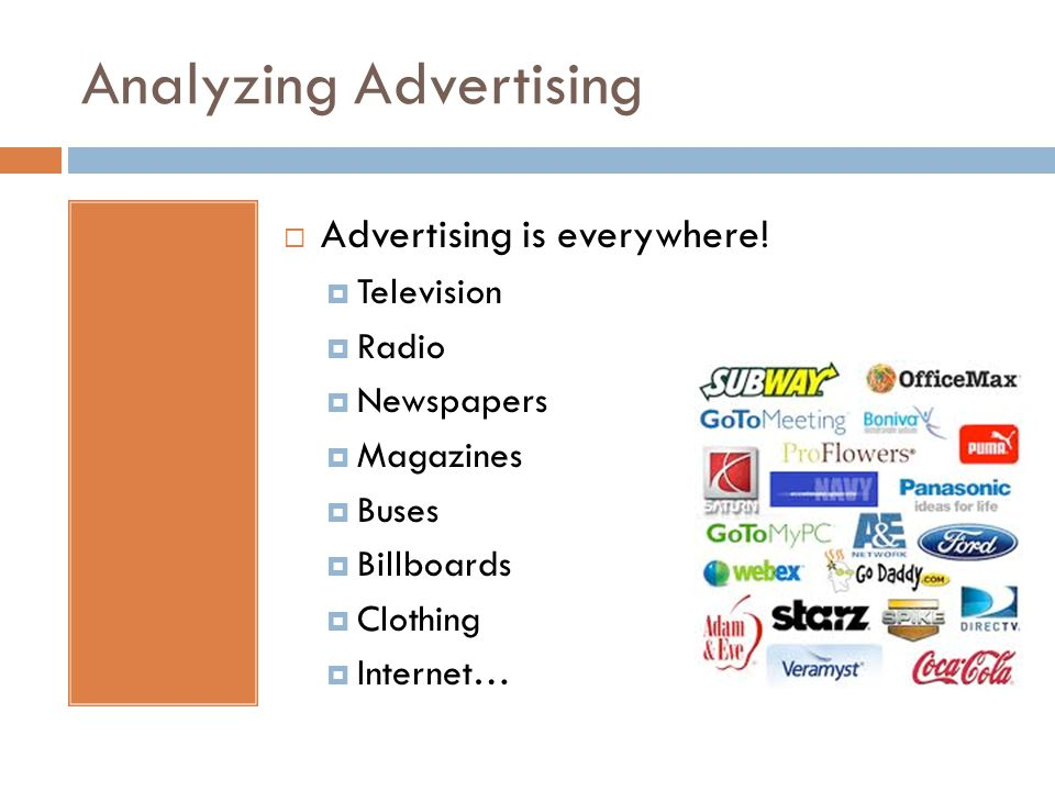 Analyzing Advertising