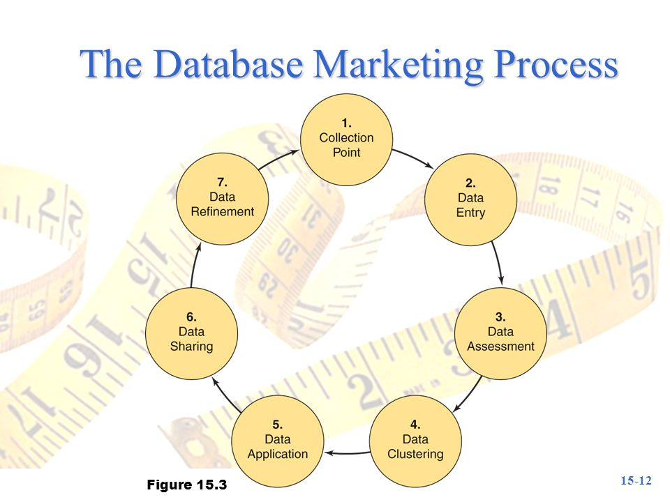 The Database Marketing Process