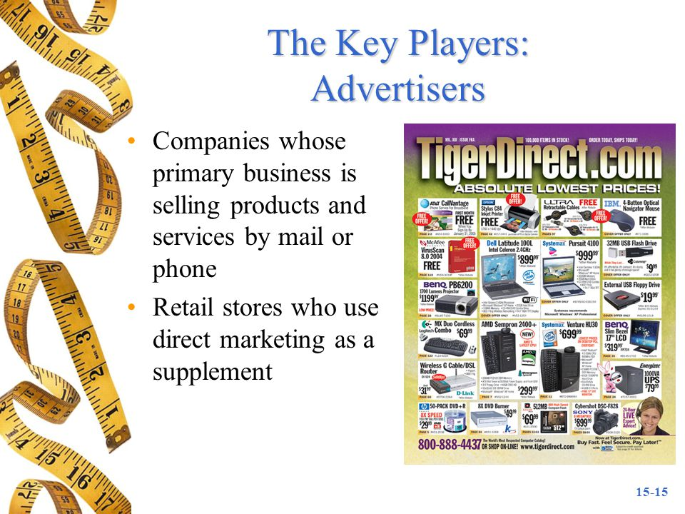 The Key Players: Advertisers