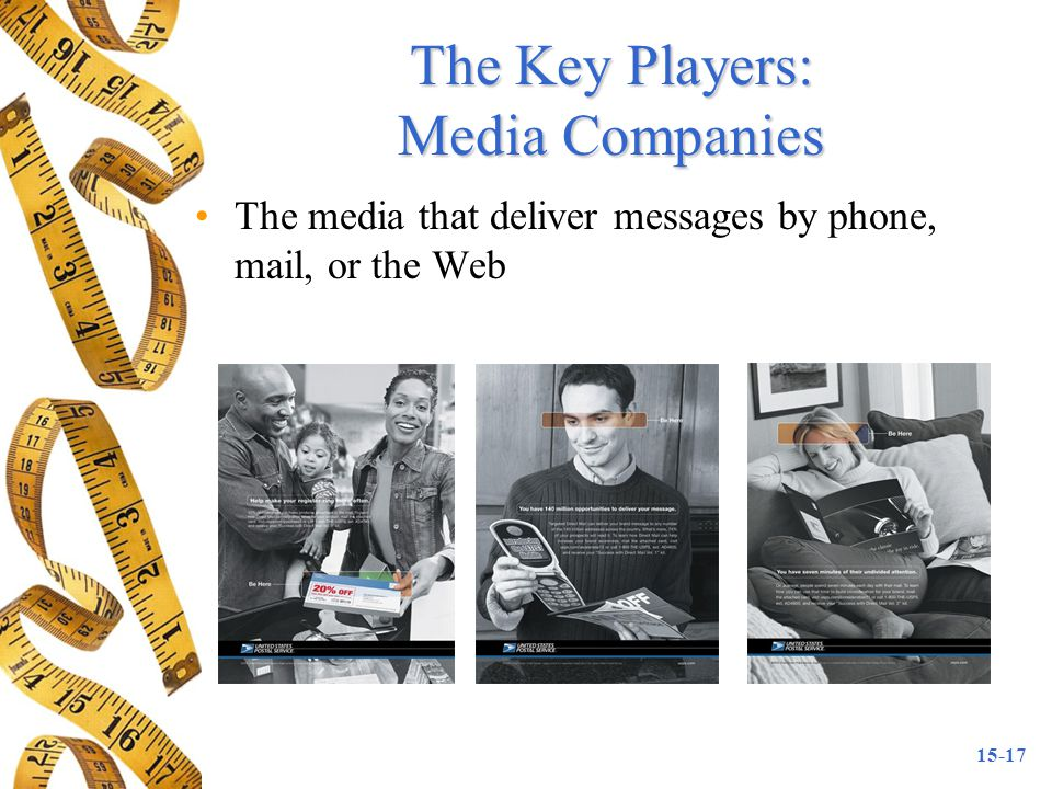 The Key Players: Media Companies