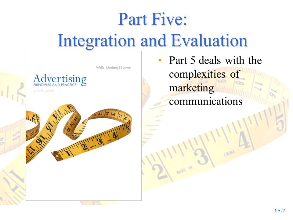 Part Five: Integration and Evaluation
