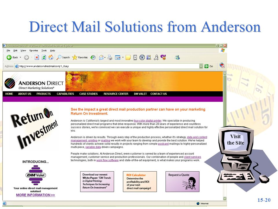 Direct Mail Solutions from Anderson