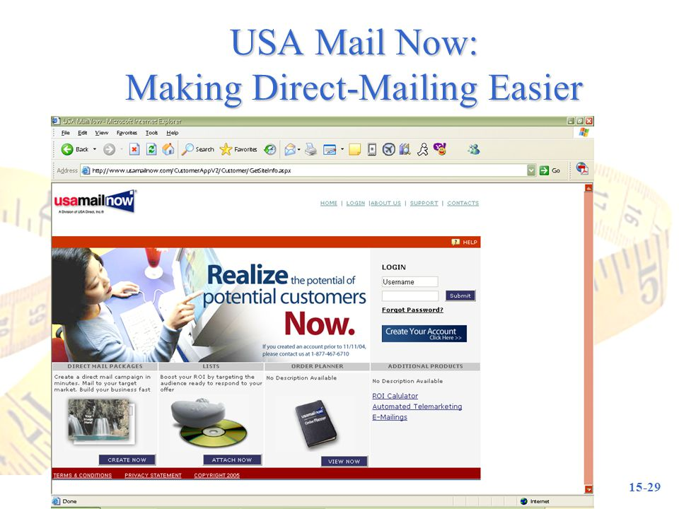 USA Mail Now: Making Direct-Mailing Easier
