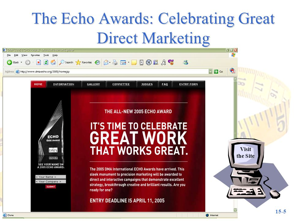The Echo Awards: Celebrating Great Direct Marketing