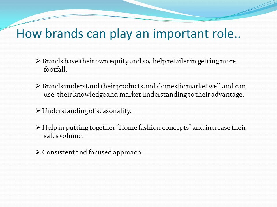 How brands can play an important role..