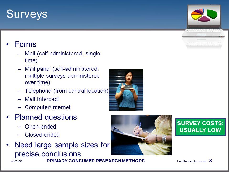 Surveys Forms Planned questions