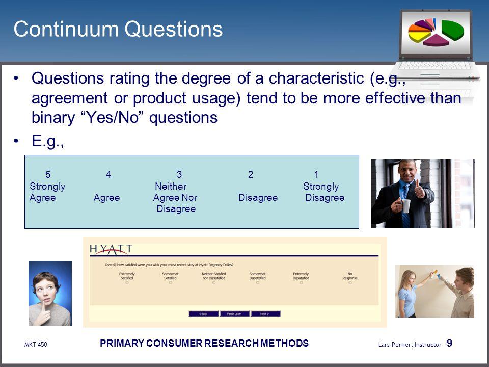 Continuum Questions
