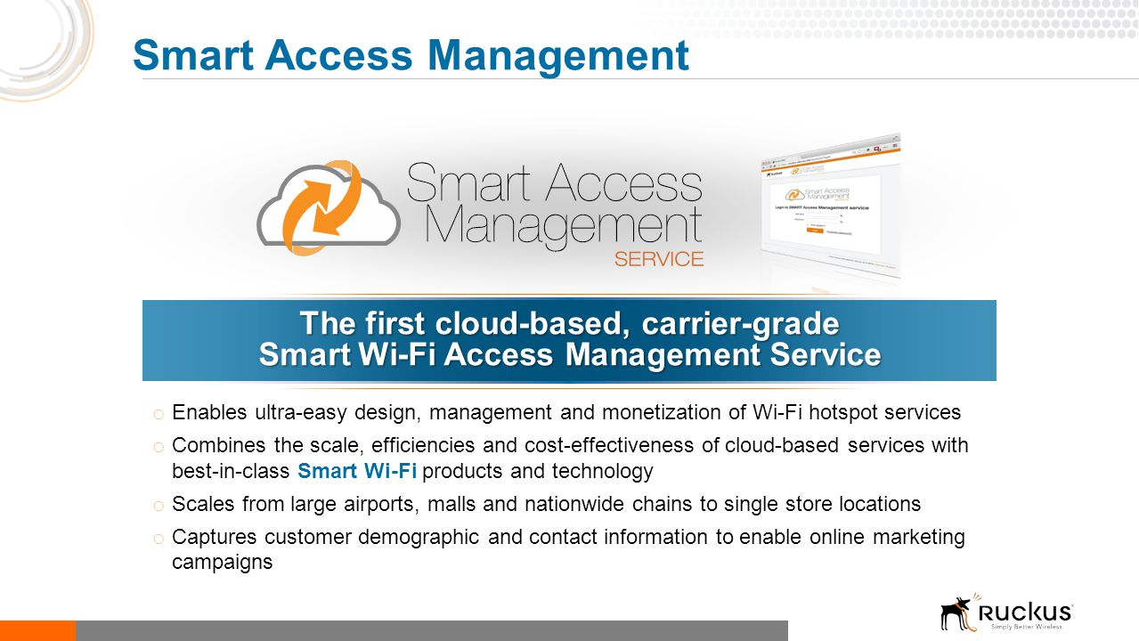 Smart Access Management