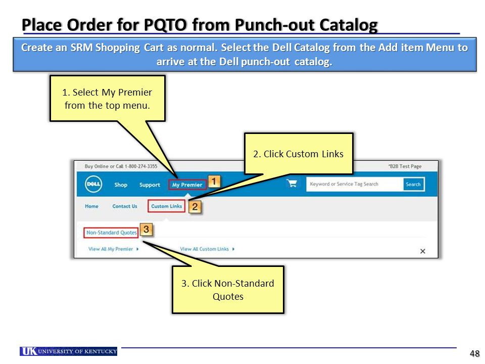Place Order for PQTO from Punch-out Catalog
