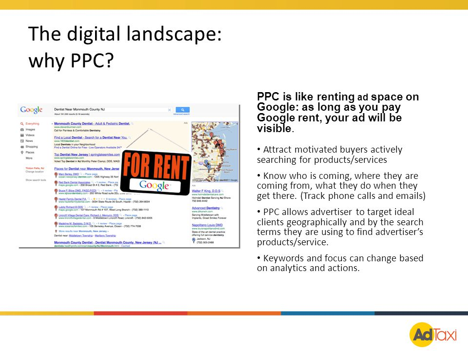 The digital landscape: why PPC