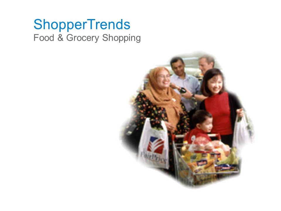 ShopperTrends Food & Grocery Shopping
