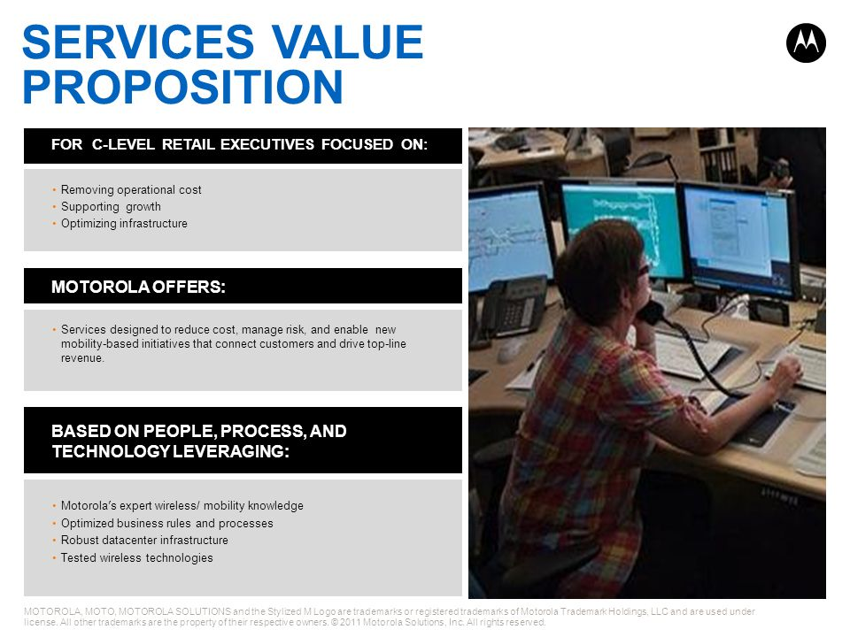 SERVICES VALUE PROPOSITION