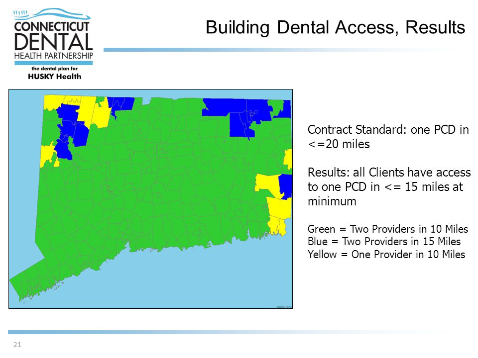 Building Dental Access, Results