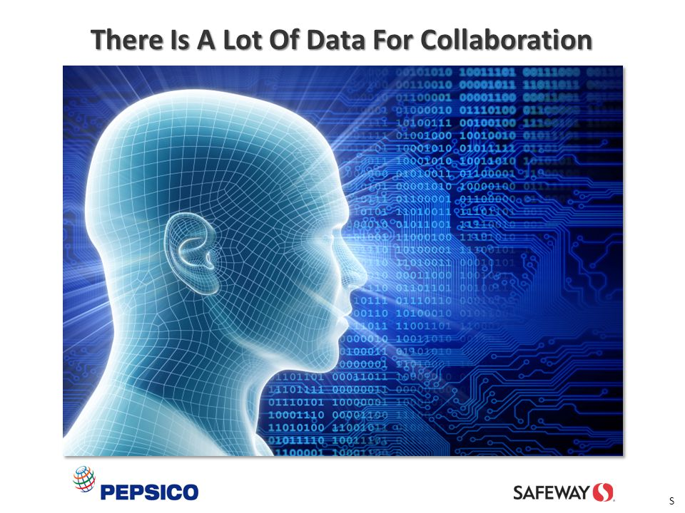 There Is A Lot Of Data For Collaboration